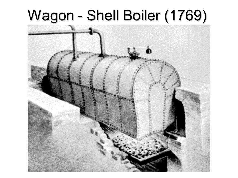 Wagon - Shell Boiler (1769)