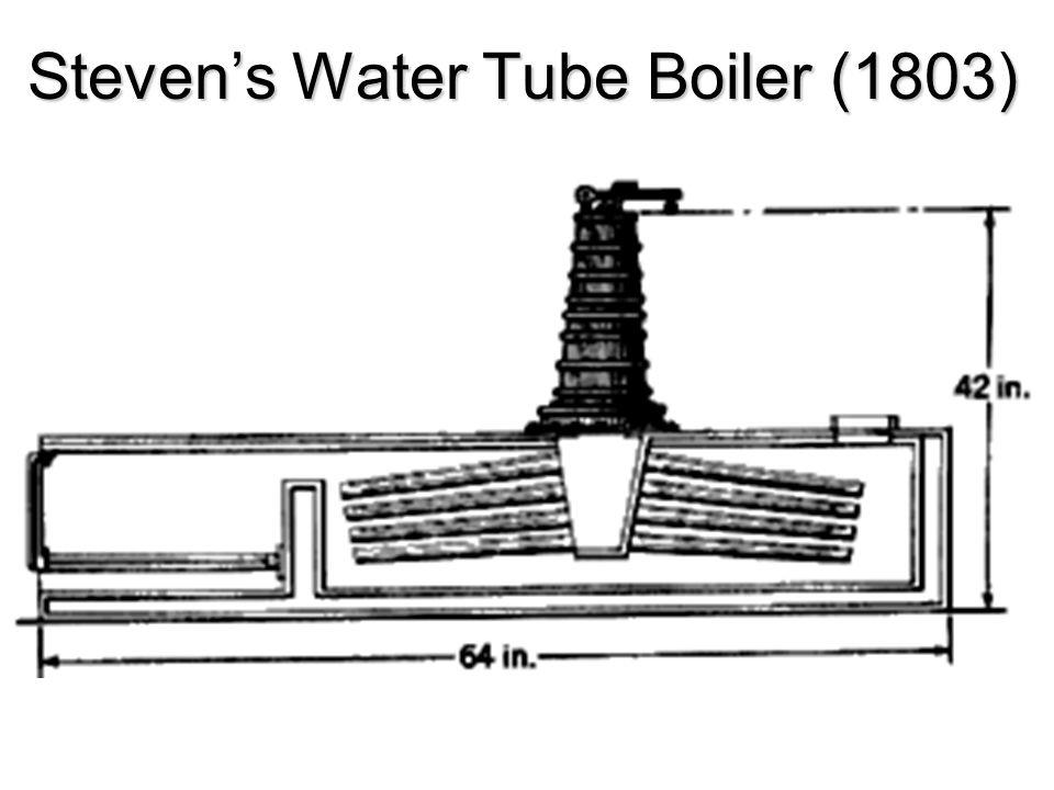 Stevens Water Tube Boiler (1803)