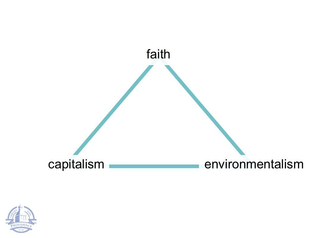 faith capitalismenvironmentalism