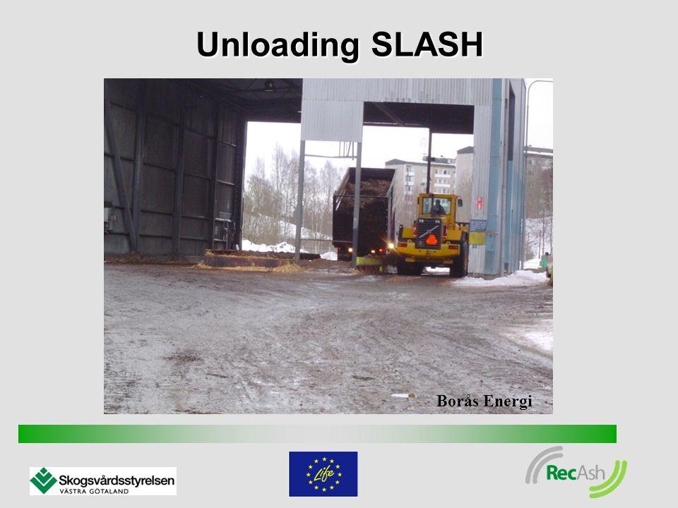 Unloading SLASH Borås Energi