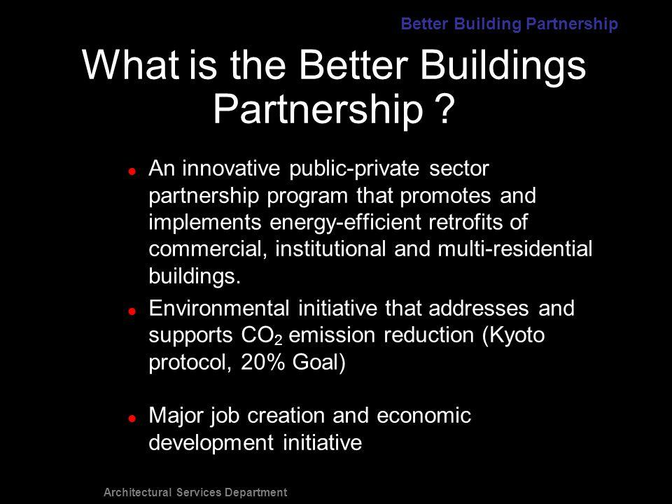 Architectural Services Department $2M project - 3 bldgs.