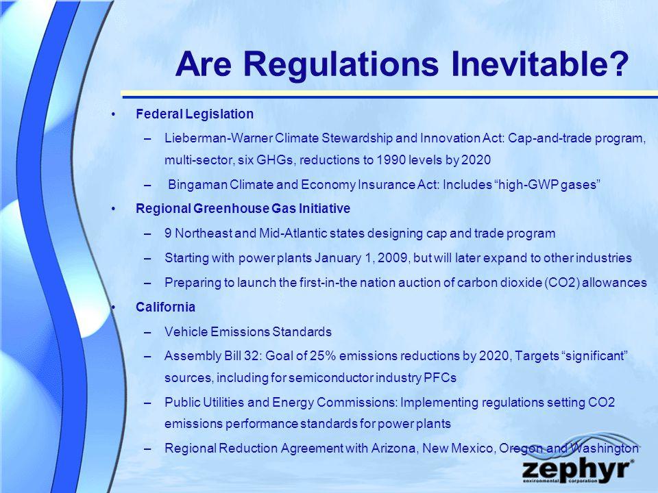 Are Regulations Inevitable.