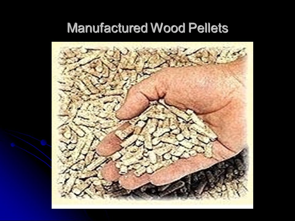Manufactured Wood Pellets