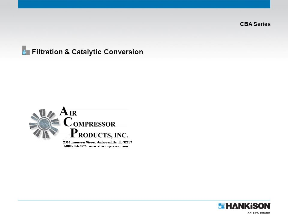 CBA Series Filtration & Catalytic Conversion