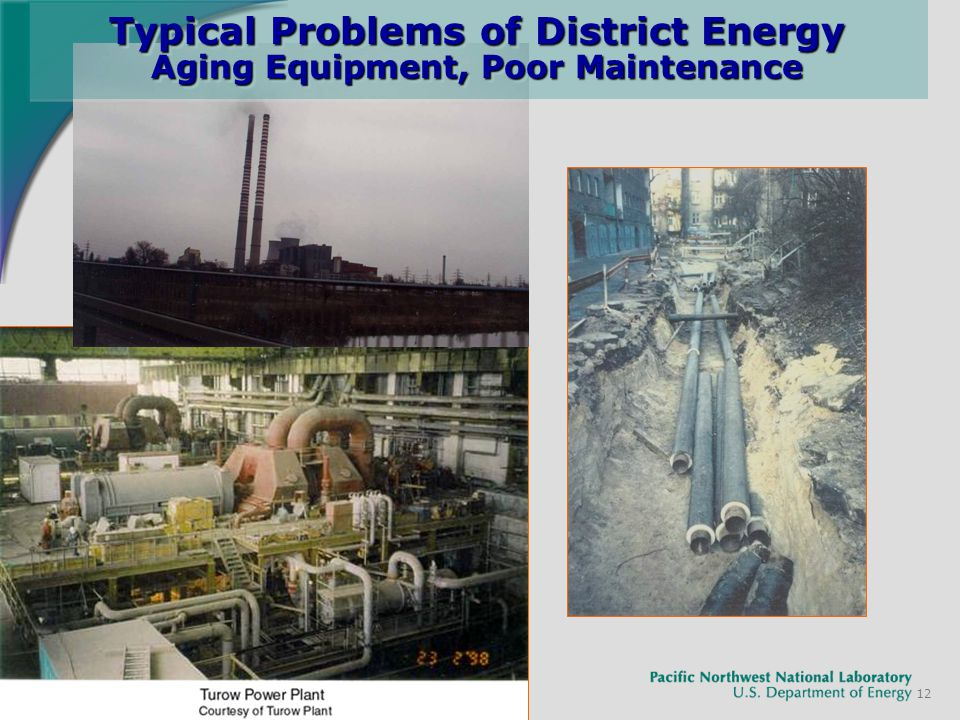 12 Typical Problems of District Energy Aging Equipment, Poor Maintenance