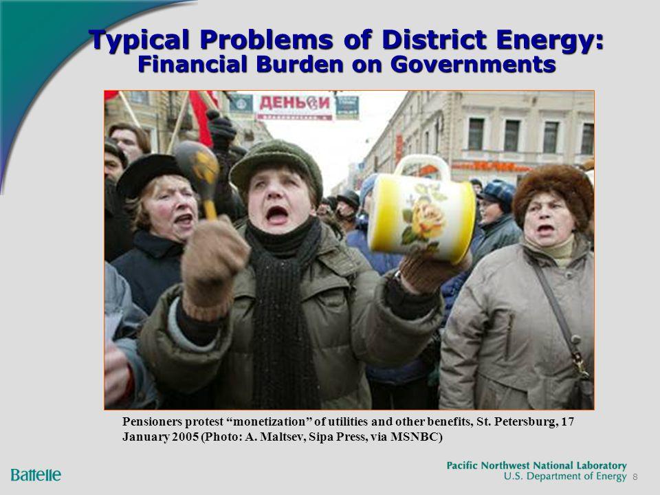 49 Frontier Financing Russia World Bank Housing Divestiture, $500 M Czech Republic: ESCO promotion, $30 M Ukraine: Kyiv City Buildings, $30 M