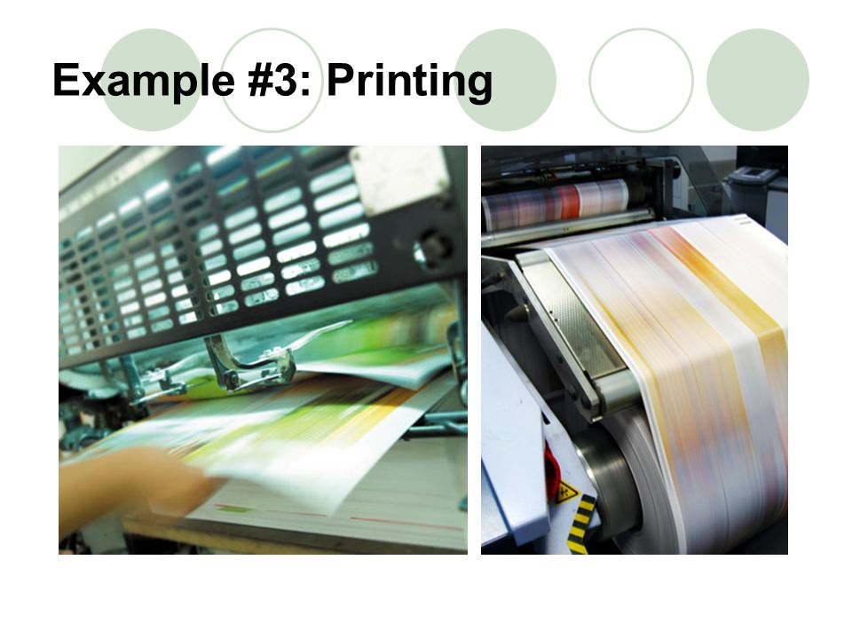 Example #3: Printing