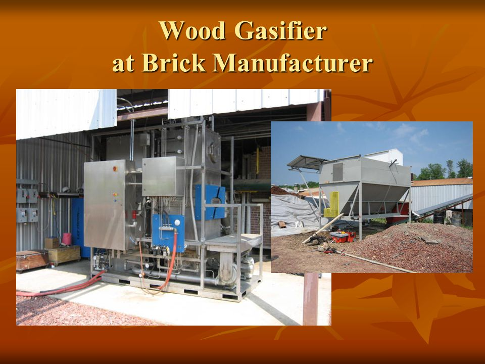 Wood Gasifier at Brick Manufacturer