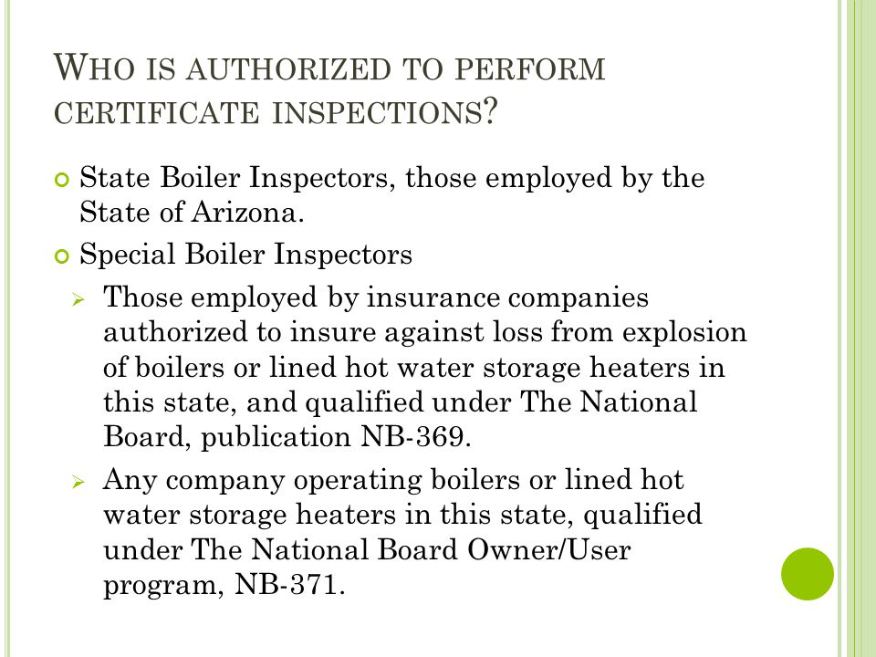 W HAT IS EXEMPT FROM THE B OILER R ULES .R20-5-401.