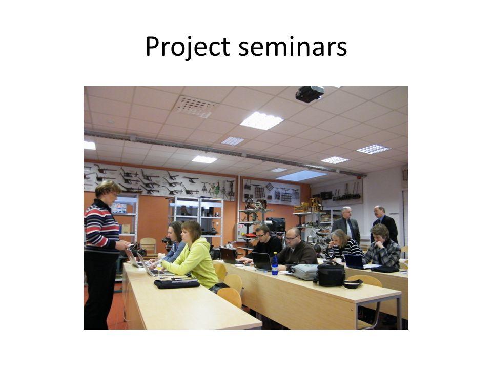 Project seminars