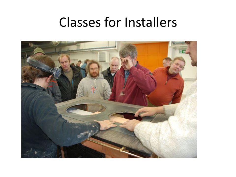 Classes for Installers