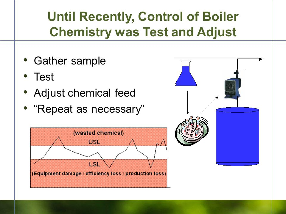 Why Feedwater instead of Boiler Water.