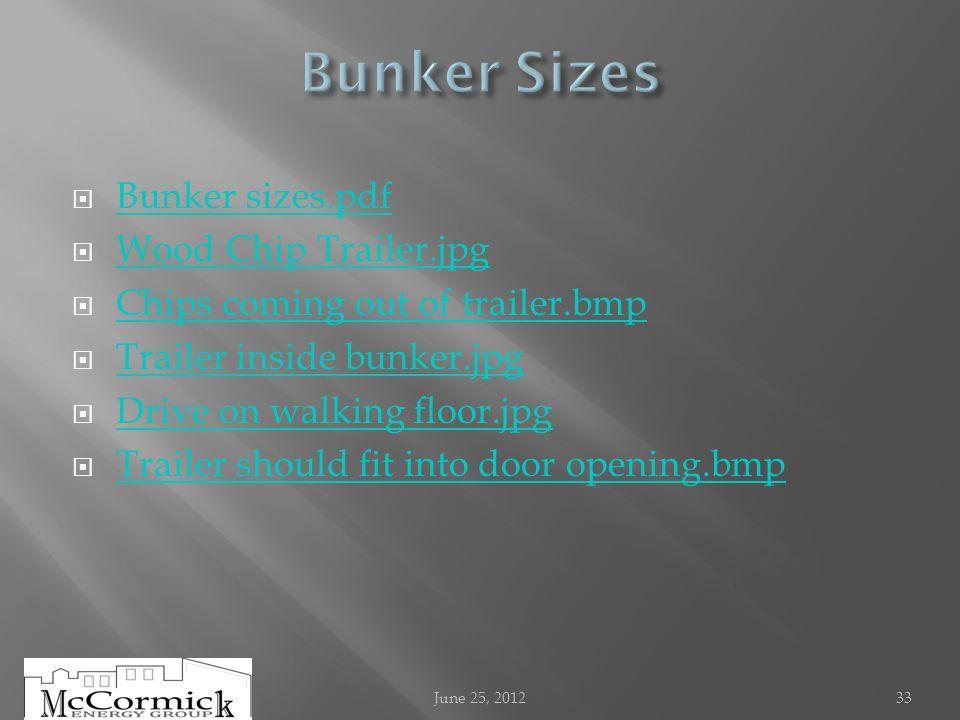 Bunker sizes.pdf Wood Chip Trailer.jpg Chips coming out of trailer.bmp Trailer inside bunker.jpg Drive on walking floor.jpg Trailer should fit into do