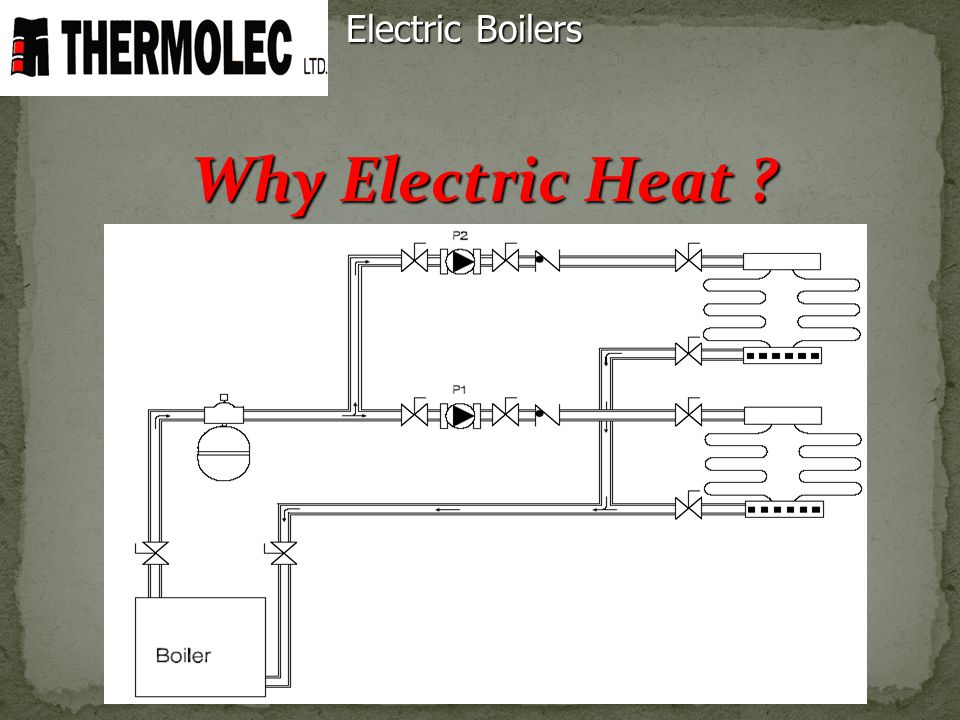 Why Electric Heat ? Electric Boilers
