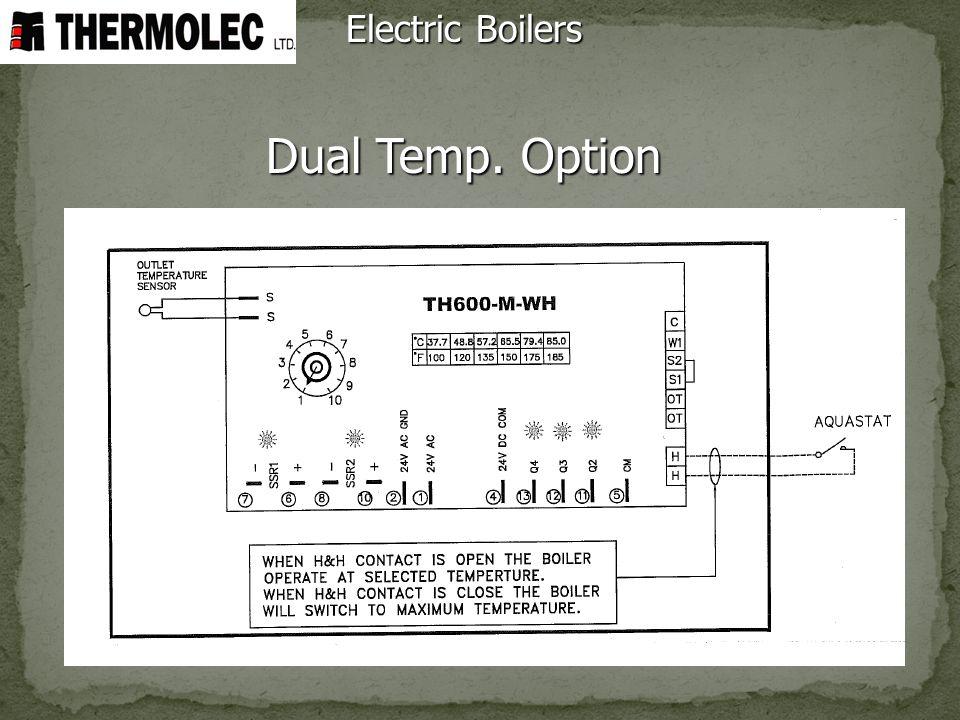 Dual Temp. Option