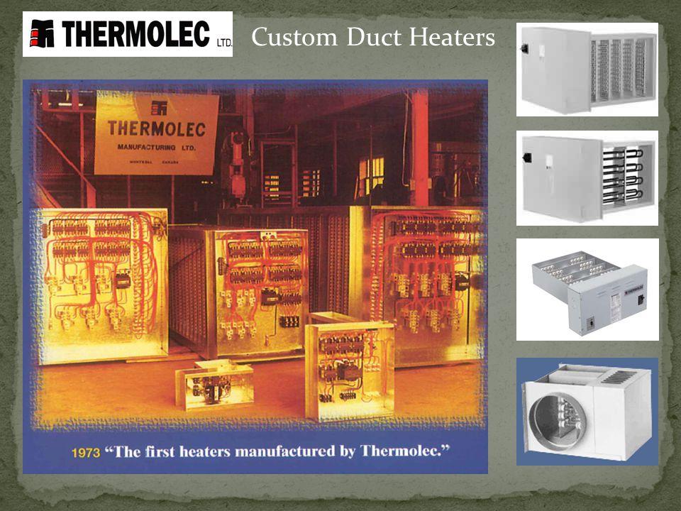 Custom Duct Heaters