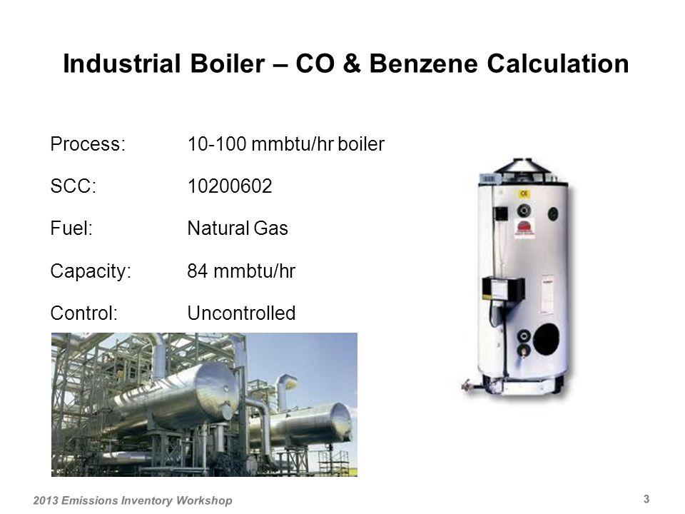Control Equipment Calculations 2013 Emissions Inventory Workshop 24