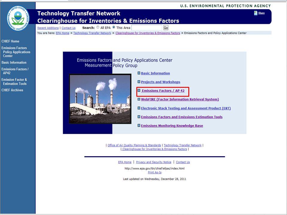 16 2013 Emissions Inventory Workshop