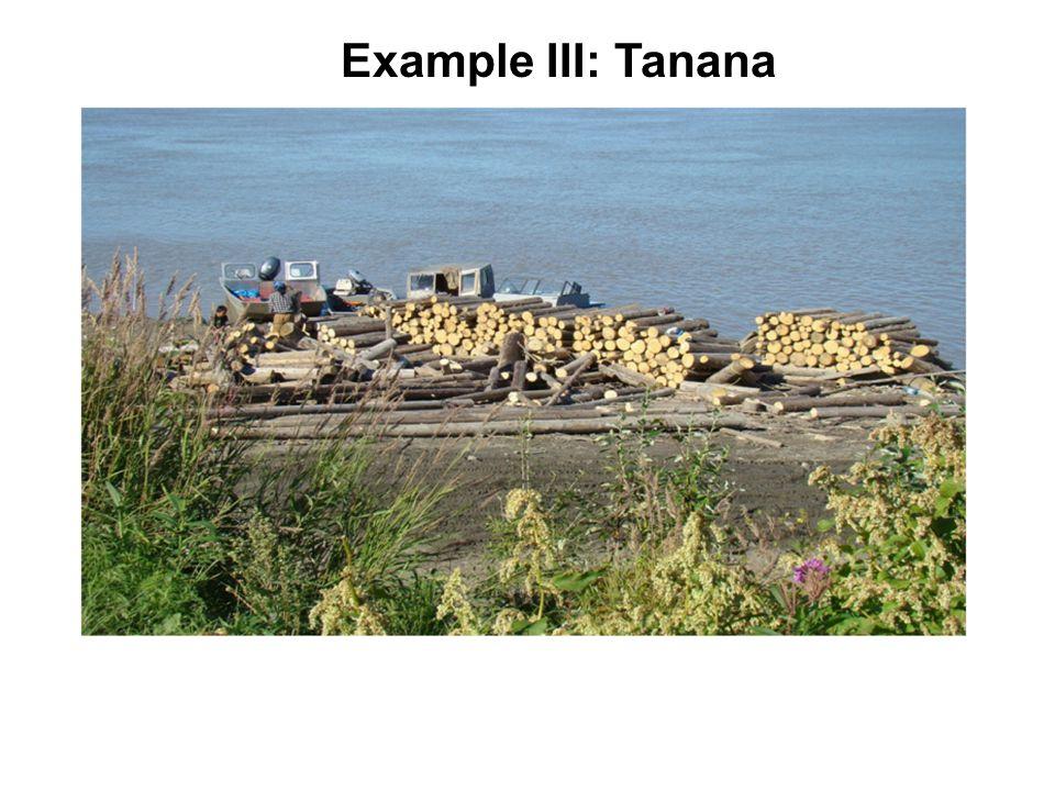 Example III: Tanana