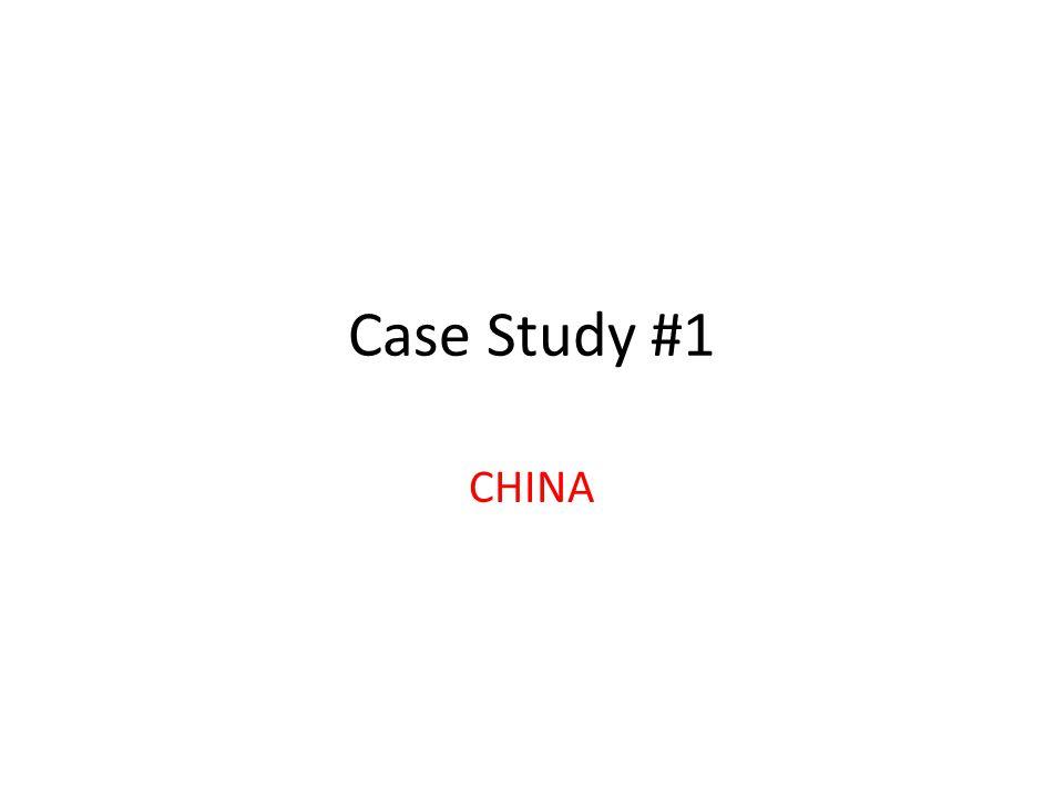 Case Study #2 INDIA