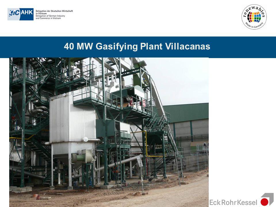 40 MW Gasifying Plant Villacanas