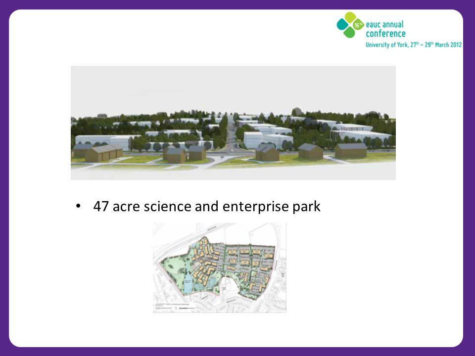 47 acre science and enterprise park