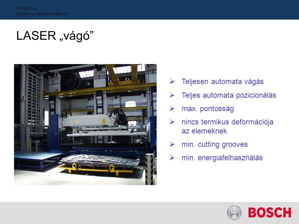 04/0 4 I_e Gyártástechnológia Modern gyártási alkalmazások Hegesztőrobot Teljesen automatizáét hegesztőrobot Folyamatos, tökéletes hegesztési technolg