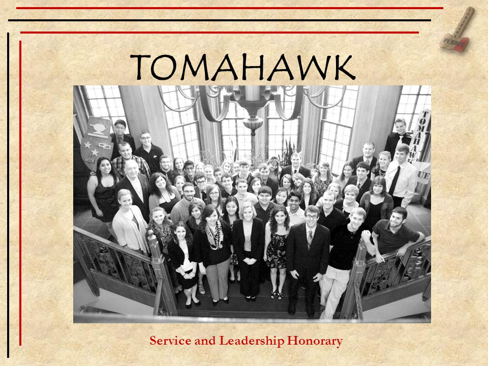 TOMAHAWK Service and Leadership Honorary