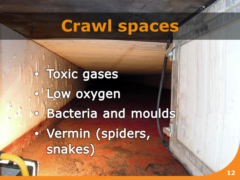 Crawl spaces 12