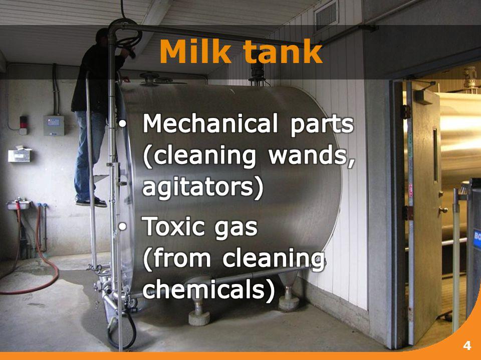 Milk tank 4
