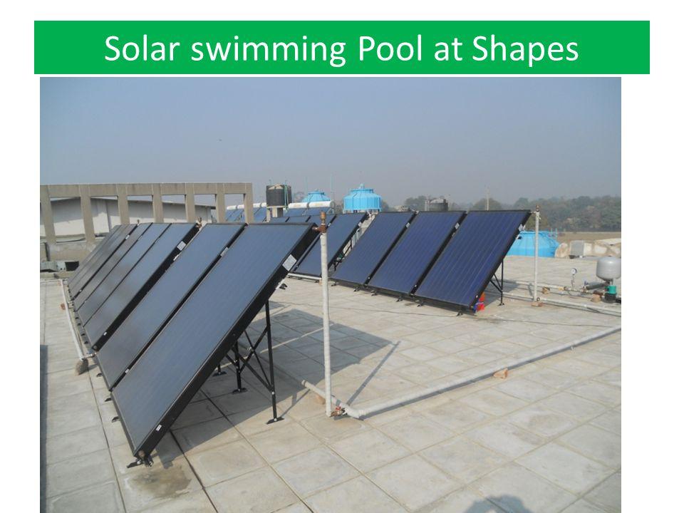 Solar swimming Pool at Shapes