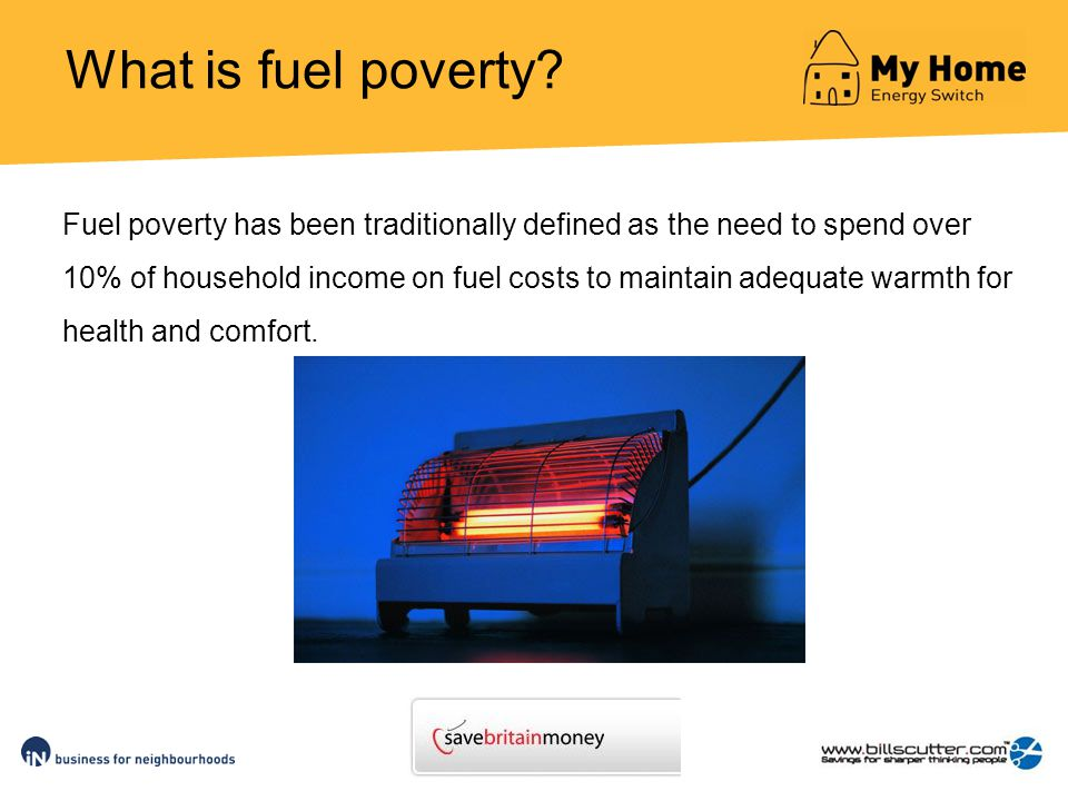 What is fuel poverty.