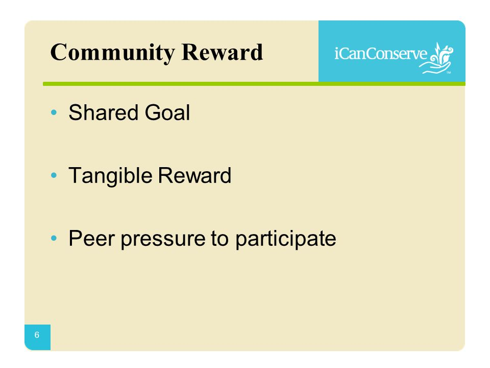 Community Reward 7