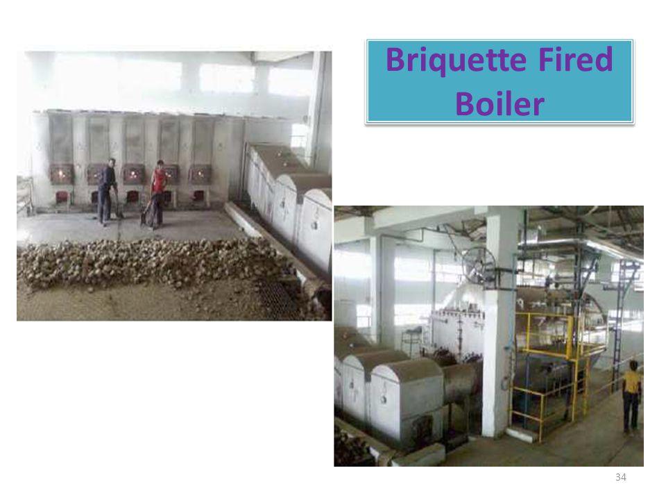 Briquette Fired Boiler 34
