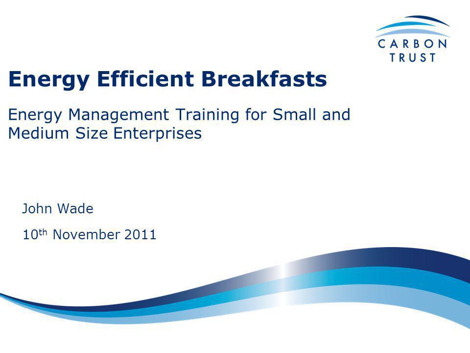Energy Management Basics