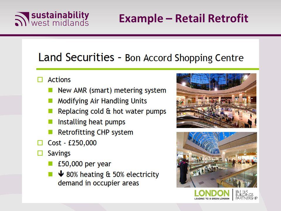 Example – Retail Retrofit