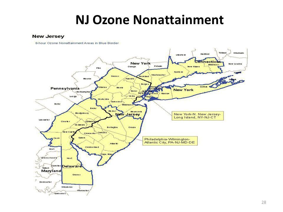 28 NJ Ozone Nonattainment