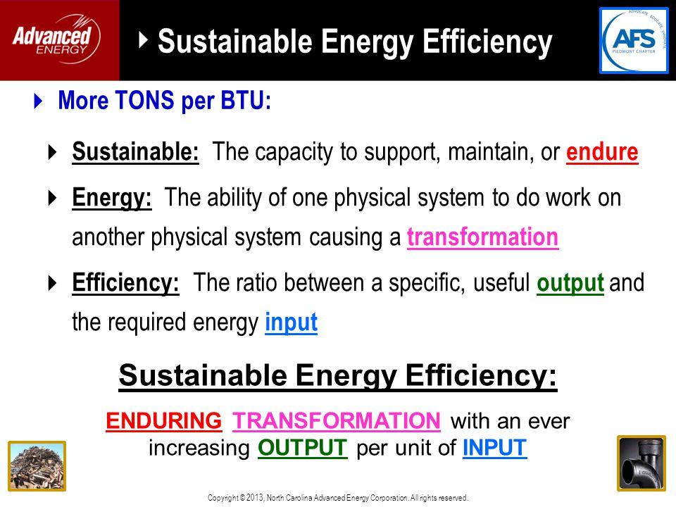 Copyright © 2013, North Carolina Advanced Energy Corporation.
