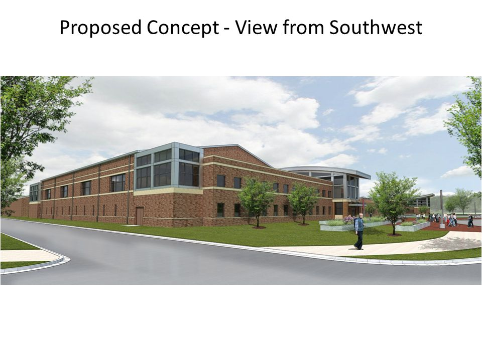 Proposed Concept - View from Southwest