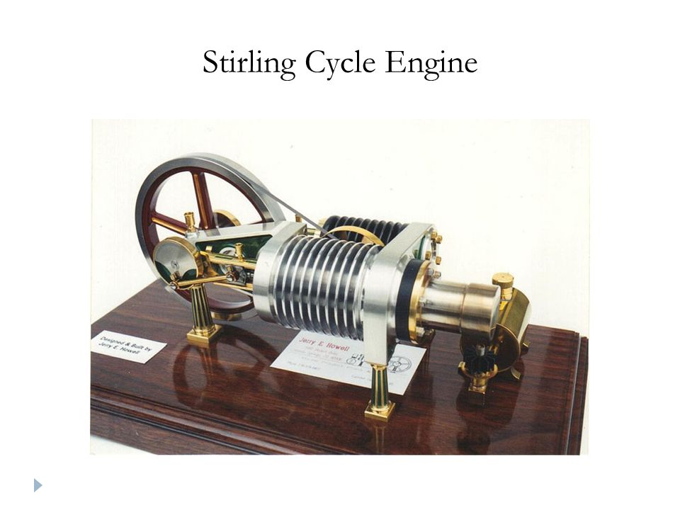 Stirling Cycle Engine