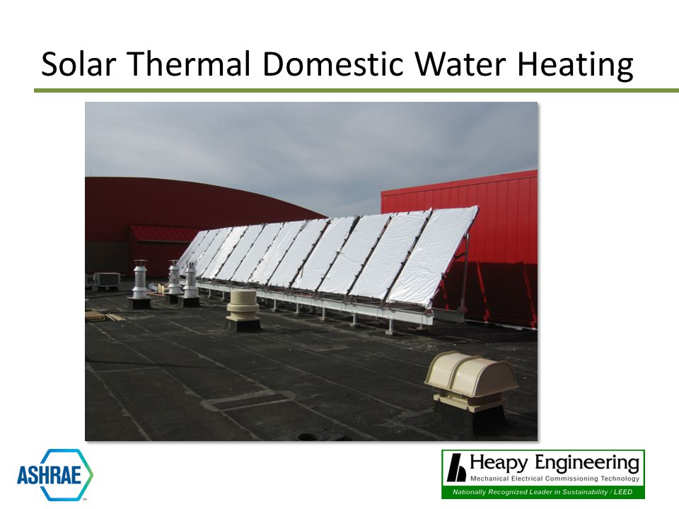 Solar Thermal Domestic Water Heating