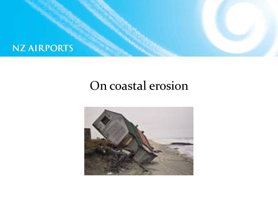 On coastal erosion