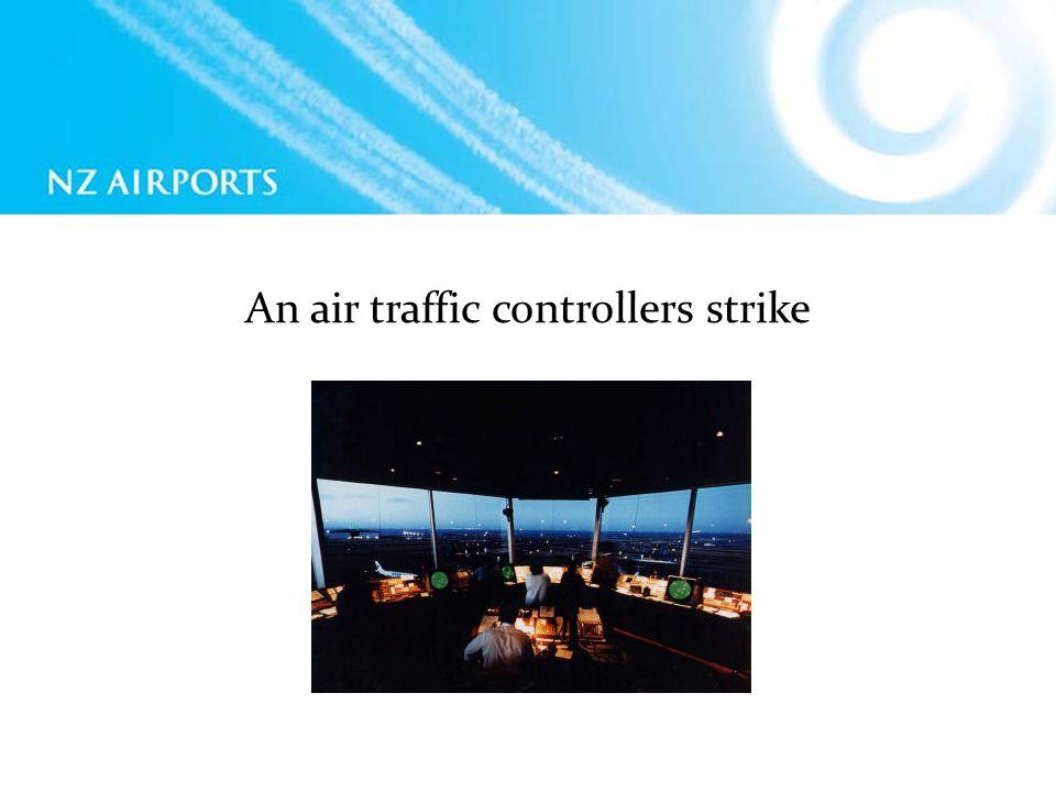An air traffic controllers strike