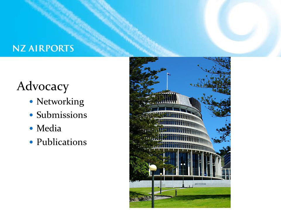 Advocacy Networking Submissions Media Publications