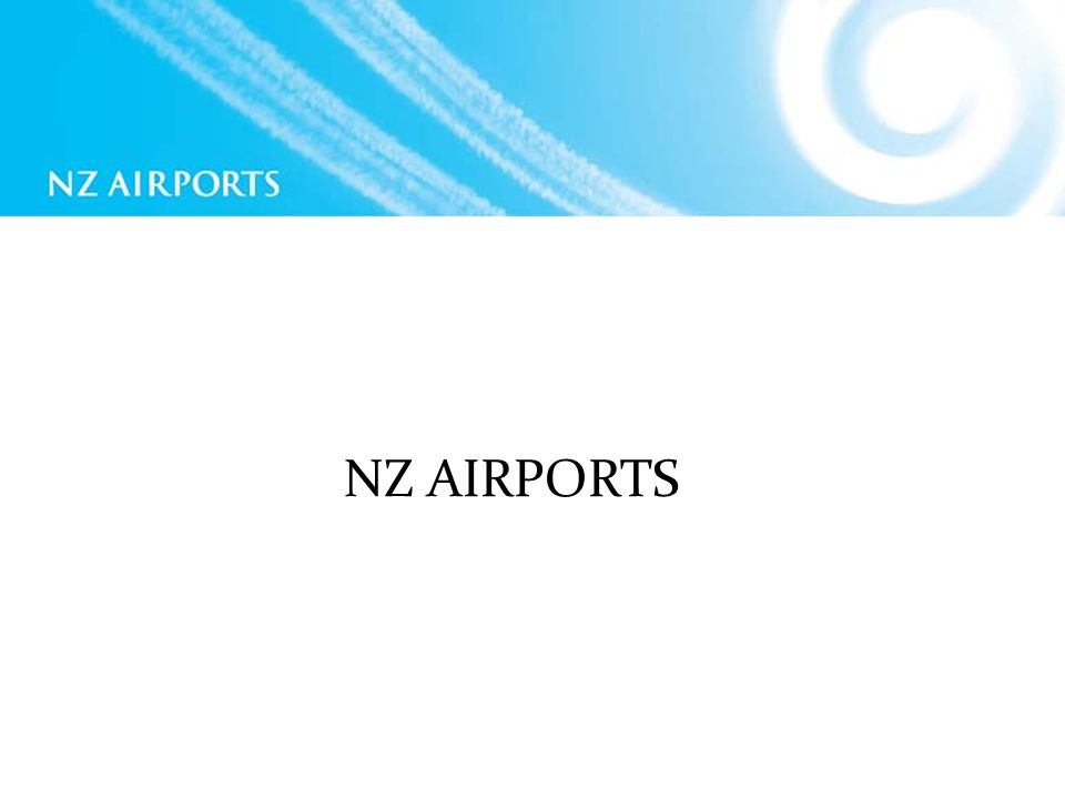 NZ AIRPORTS