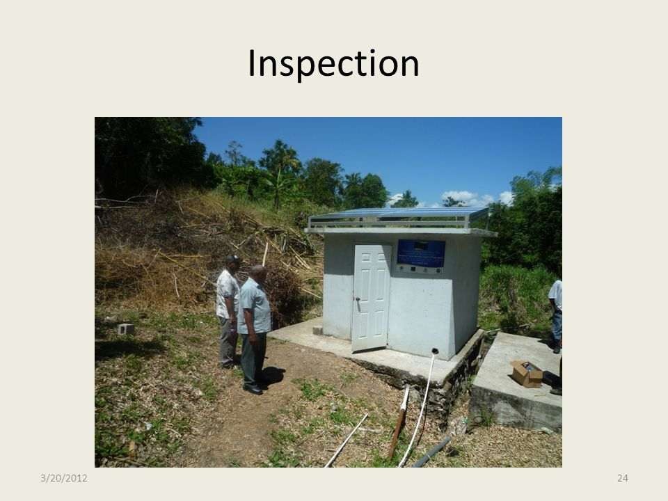 Inspection 3/20/201224