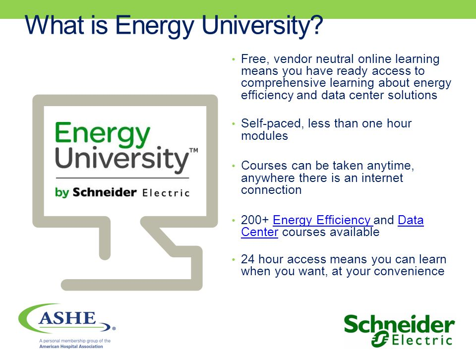 What is Energy University.