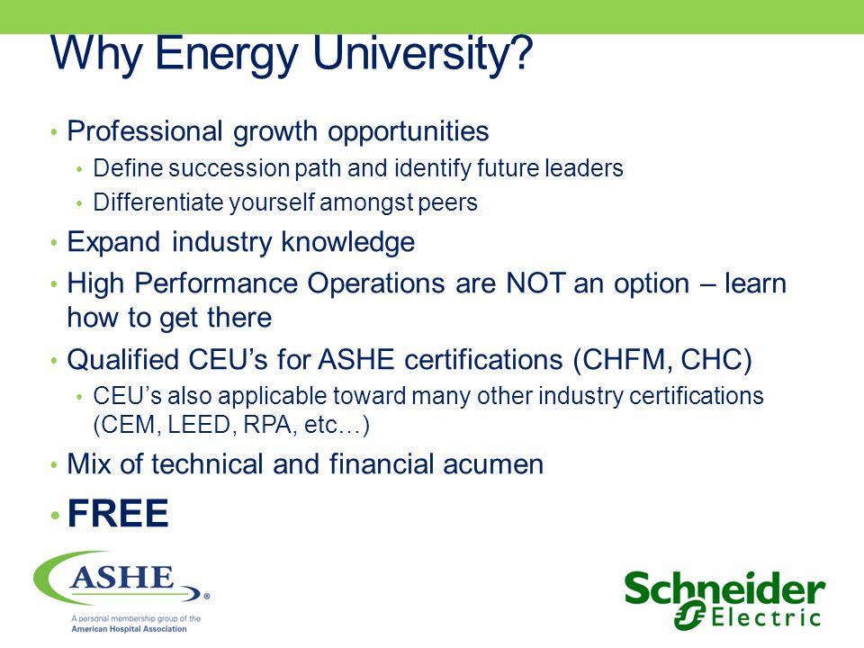 Why Energy University.