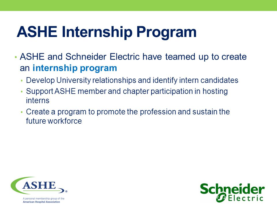 ASHE Credits ASHE has approved each course for continuing education credits.