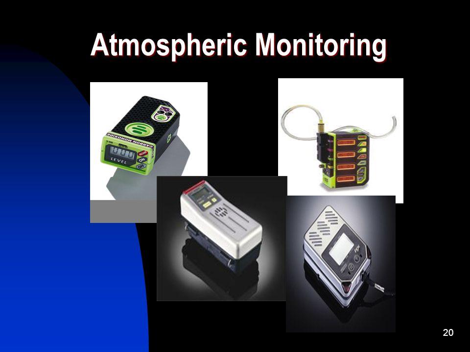 20 Atmospheric Monitoring